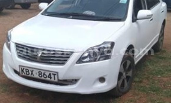 Buy Used Toyota Allion White Car in Nairobi in Nairobi