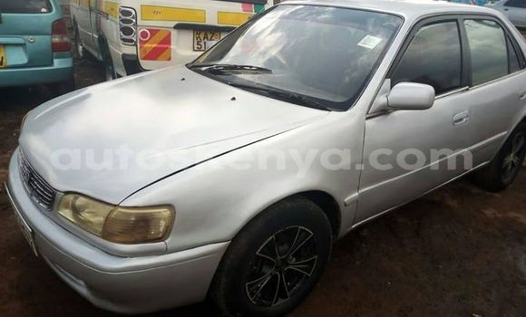 Buy Imported Toyota Corolla Silver Car in Thika in Nairobi