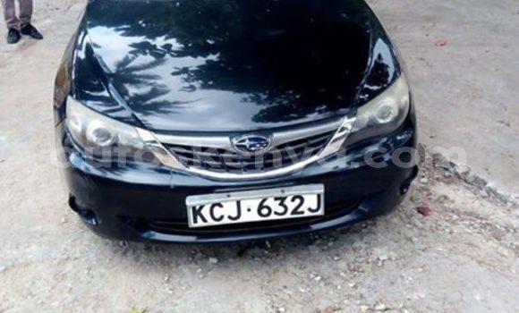 Buy Imported Subaru Impreza Black Car in Nairobi in Nairobi