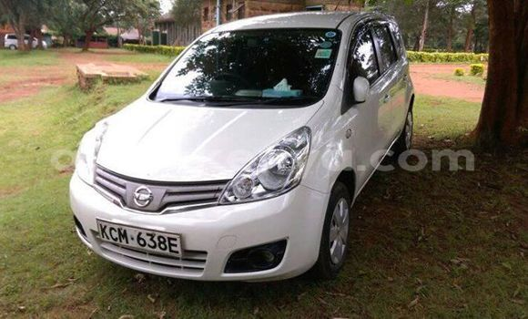 Buy Imported Nissan Note White Car in Nairobi in Nairobi