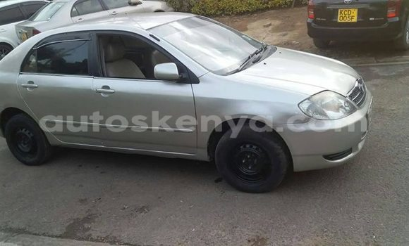 Buy Imported Toyota Corolla Silver Car in Nairobi in Nairobi