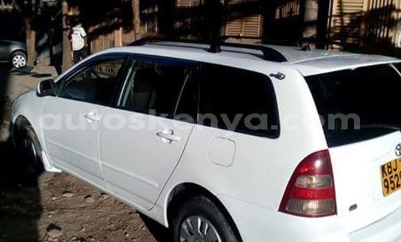 Buy Imported Toyota Fielder White Car in Nairobi in Nairobi