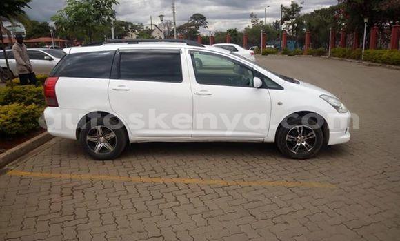 Buy Imported Toyota Wish White Car in Nairobi in Nairobi