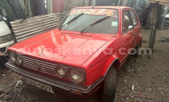 Buy Imported Volkswagen Golf Red Car in Nairobi in Nairobi