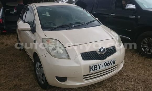 Buy Imported Toyota Vitz White Car in Nairobi in Nairobi