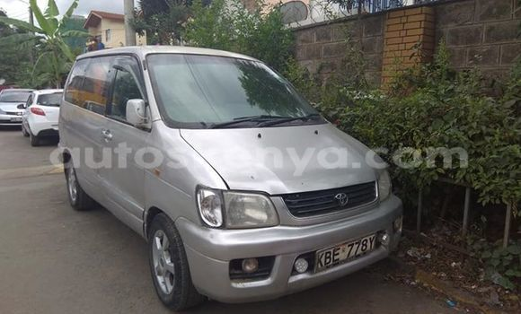 Buy Imported Toyota Noah Silver Car in Nairobi in Nairobi