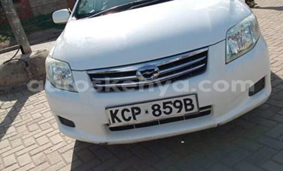 Buy Imported Toyota Axio White Car in Nairobi in Nairobi