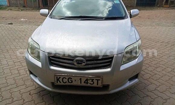 Buy Imported Toyota Axio Silver Car in Nairobi in Nairobi