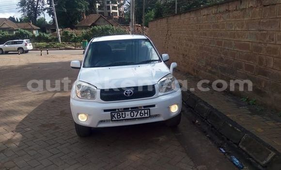 Buy Imported Toyota RAV4 White Car in Nairobi in Nairobi