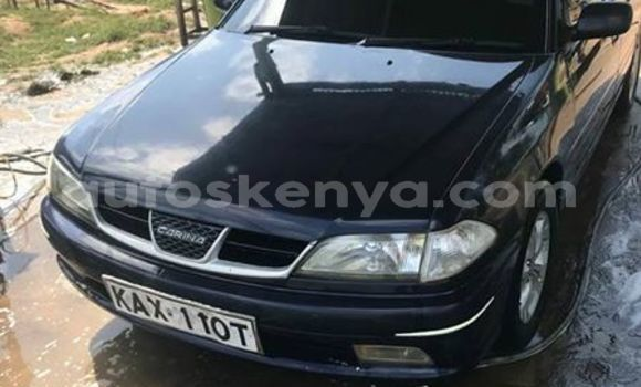 Buy Imported Toyota Carina Black Car in Mombasa in Coastal Kenya