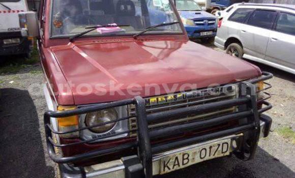 Buy Imported Mitsubishi Pajero Red Car in Nairobi in Nairobi