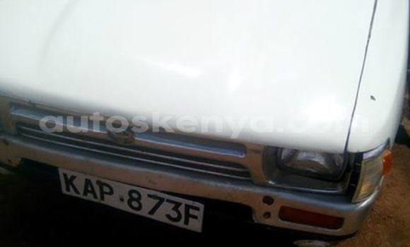 Buy Imported Toyota Hilux White Car in Thika in Nairobi