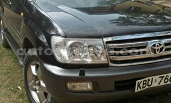 Buy Imported Toyota Land Cruiser Black Car in Nairobi in Nairobi