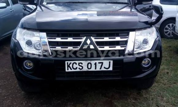 Buy Imported Mitsubishi Pajero Black Car in Nairobi in Nairobi