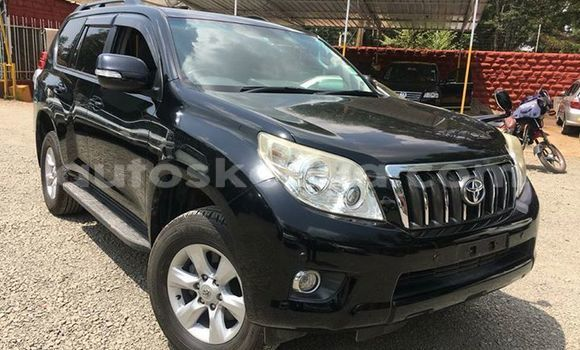 Buy Imported Toyota Land Cruiser Prado Black Car in Nairobi in Nairobi