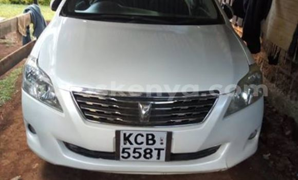 Buy Imported Toyota Premio White Car in Nairobi in Nairobi
