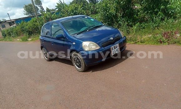 Buy Used Toyota Vitz Blue Car in Kiambu in Central Kenya