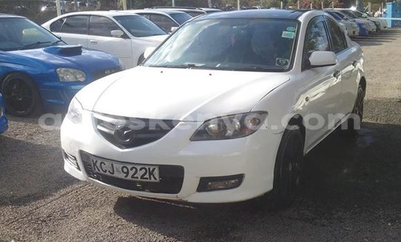 Buy Used Mazda Axela White Car in Mombasa in Coastal Kenya