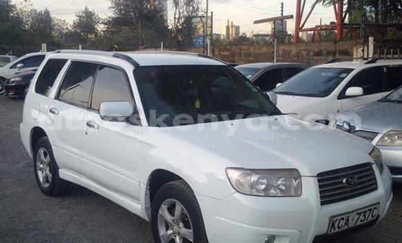 Buy Used Subaru Forester White Car in Mombasa in Coastal Kenya