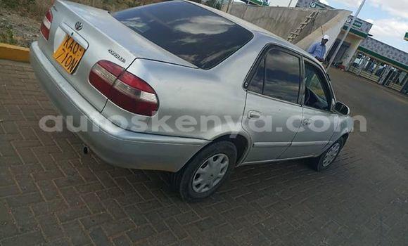 Buy Used Toyota Corolla Silver Car in Thika in Nairobi