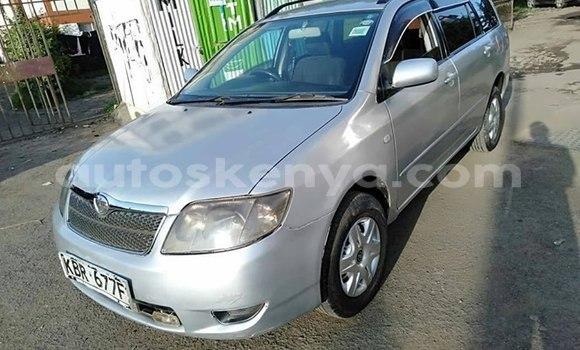 Buy Used Toyota Fielder Silver Car in Nairobi in Nairobi