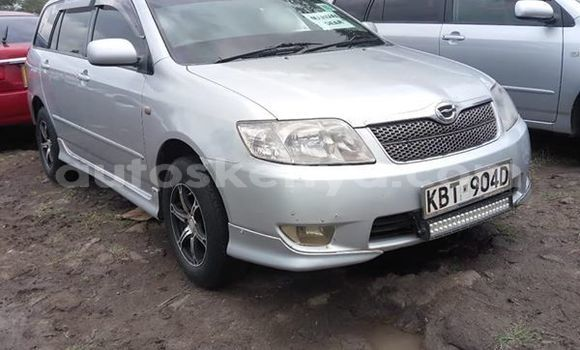 Buy Used Toyota Fielder Silver Car in Nairobi in Nairobi