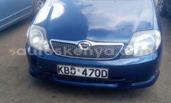 Buy Used Toyota Fielder Blue Car in Nairobi in Nairobi