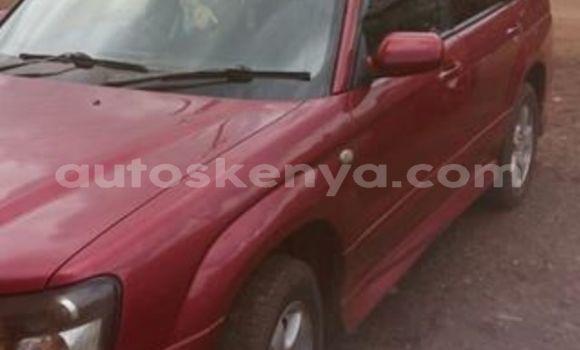 Buy Used Subaru Forester Red Car in Nairobi in Nairobi