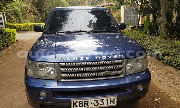 Buy Used Land Rover Range Rover Sport Blue Car in Nairobi in Nairobi
