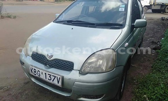 Buy Used Toyota Vitz Silver Car in Nairobi in Nairobi