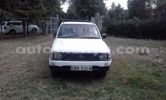 Buy Used Toyota Pickup White Car in Nyeri in Central Kenya