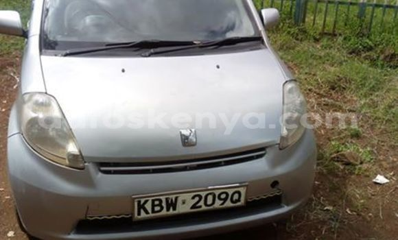 Buy Used Toyota Passo Silver Car in Nanyuki in Rift Valley