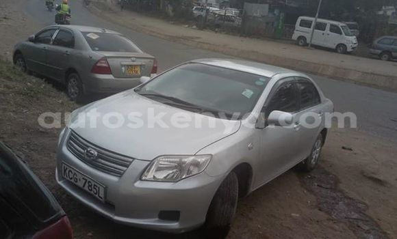 Buy Used Toyota Axio Silver Car in Nairobi in Nairobi