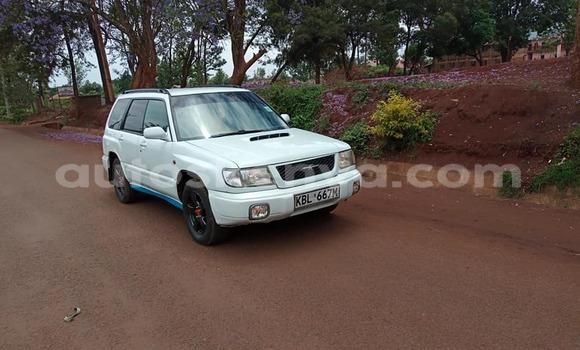 Buy Used Subaru Forester White Car in Kiambu in Central Kenya