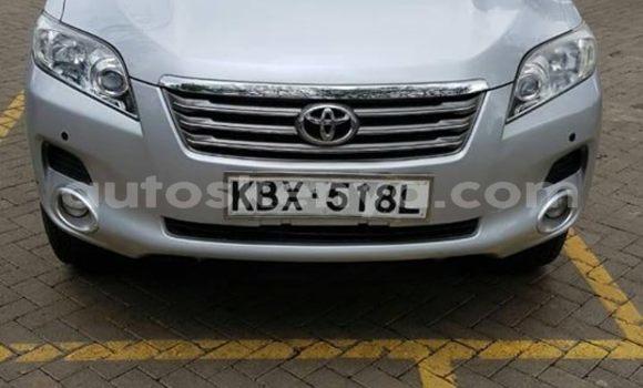 Buy Used Toyota Vanguard Silver Car in Nairobi in Nairobi