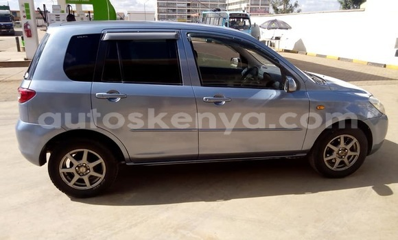 Buy Used Mazda Demio Blue Car in Kiambu in Central Kenya