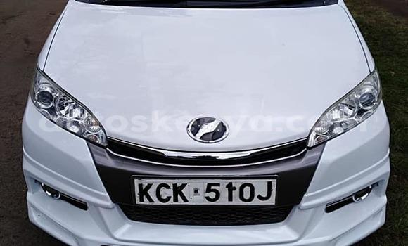 Buy Used Toyota Wish White Car in Nairobi in Nairobi