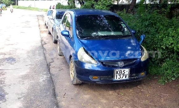 Buy Used Honda Fit Blue Car in Nairobi in Nairobi