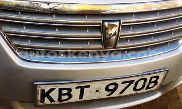 Buy Used Toyota Premio Silver Car in Nairobi in Nairobi