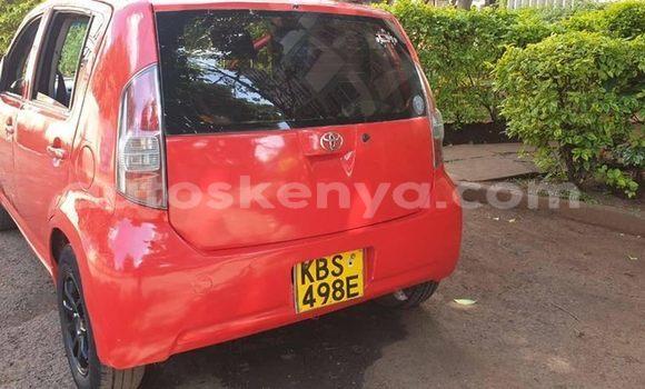 Buy Used Toyota Passo Red Car in Nairobi in Nairobi