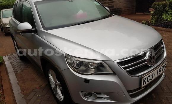 Buy Used Volkswagen Tiguan Silver Car in Nairobi in Nairobi