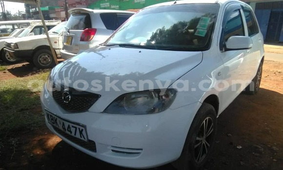 Buy Used Mazda Demio White Car in Kiambu in Central Kenya
