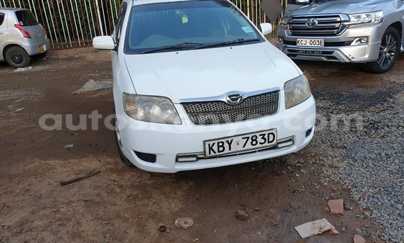 Buy Used Toyota Fielder White Car in Kiambu in Central Kenya