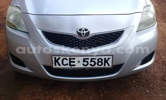 Buy Used Toyota Belta Silver Car in Kiambu in Central Kenya