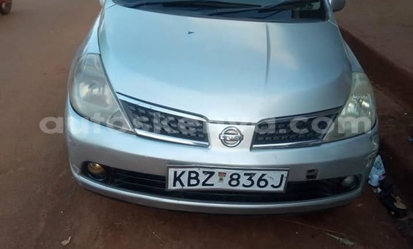 Buy Used Nissan Tiida Silver Car in Kiambu in Central Kenya