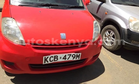 Buy Used Toyota Passo Red Car in Nairobi in Nairobi