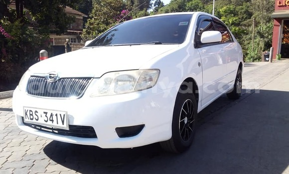Buy Used Toyota Corolla White Car in Kiambu in Central Kenya
