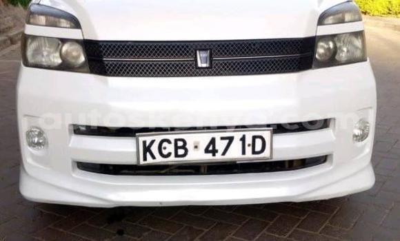 Buy Used Toyota Voxy White Car in Nairobi in Nairobi