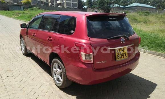 Buy Used Toyota Fielder Red Car in Nairobi in Nairobi
