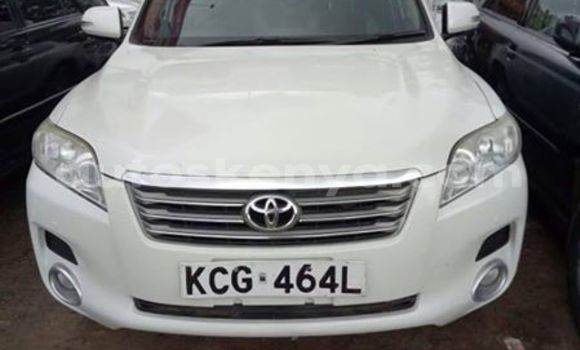 Buy Used Toyota Vanguard White Car in Nairobi in Nairobi